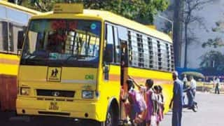 Class 2 students dies in front of mother after school bus runs over