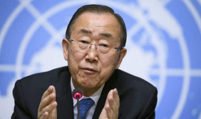 Hope India, Pakistan will resolve water issue themselves: Ban Ki-moon
