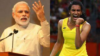 PM Narendra Modi Hails PV Sindhu For Lifting Korea Open Title
