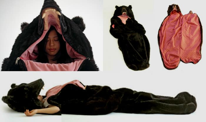 Bear Sleeping Bag is this artist s gift for all the sleepyheads out there!  See pictures 511390456