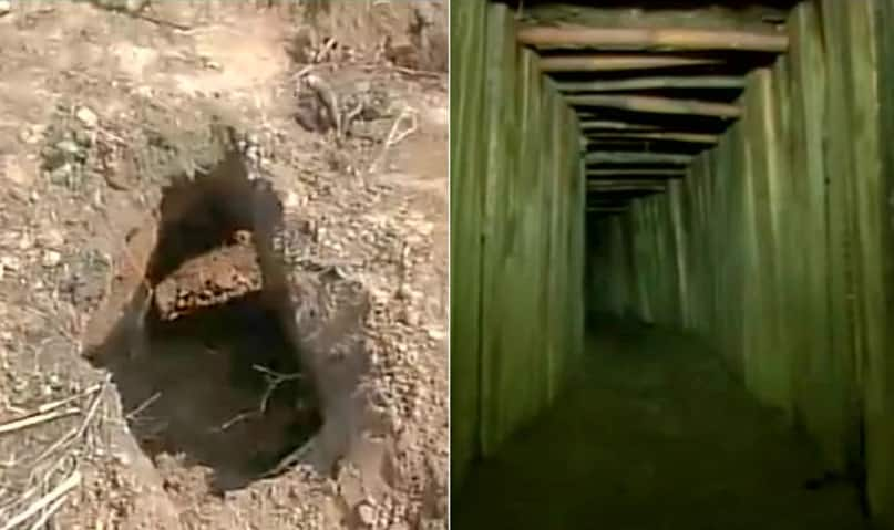 Samba terrorists might have crawled through 80-m tunnel to cross border