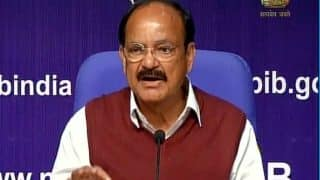 Belated criticism of channel ban politically inspired: M Venkaiah Naidu