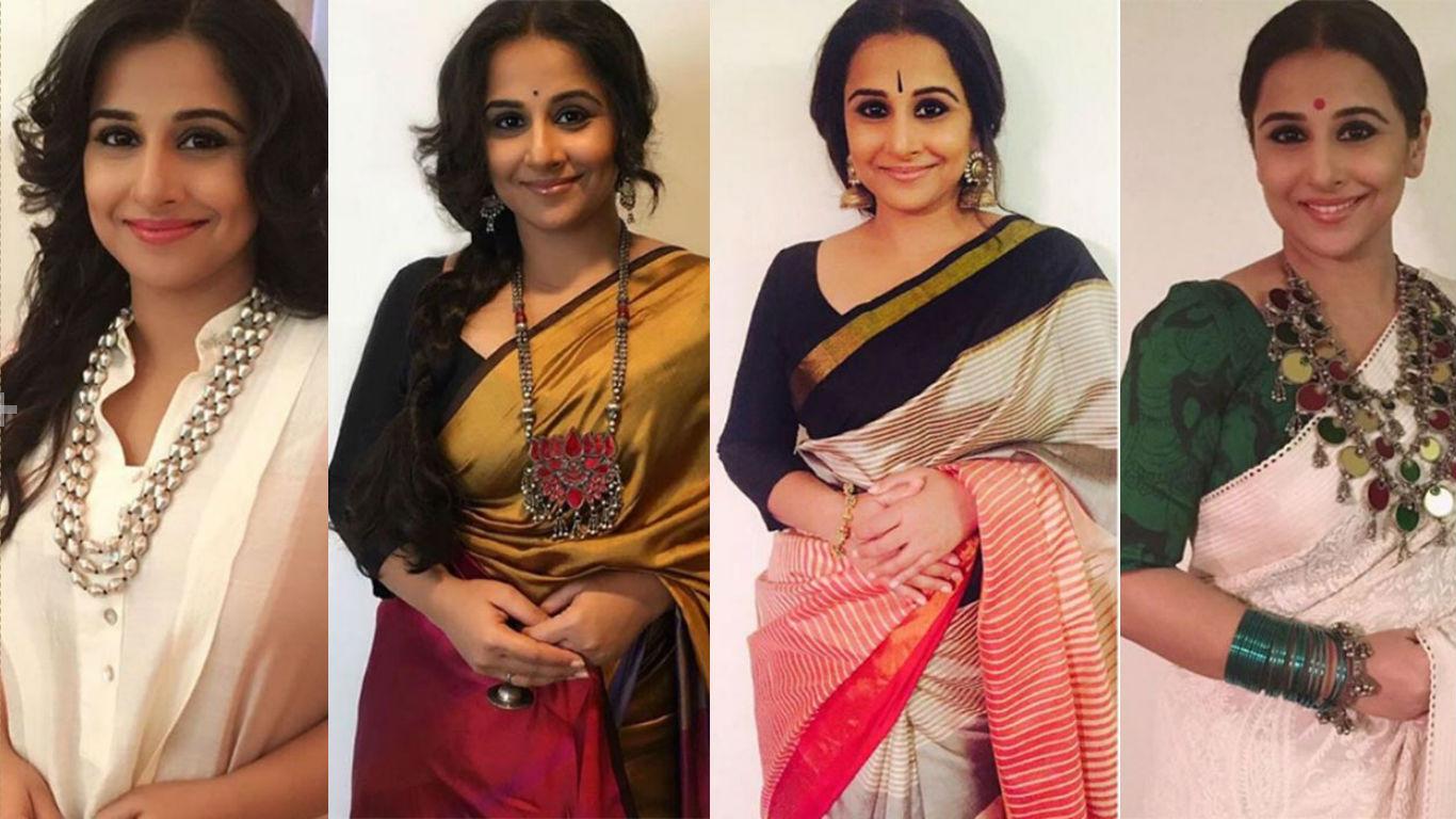 Vidya Balan Style evolution Kahaani 2