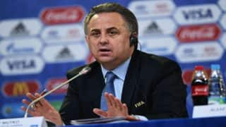 2018 FIFA World Cup: Vitaly Mutko Steps Down as Organising Committee Chief