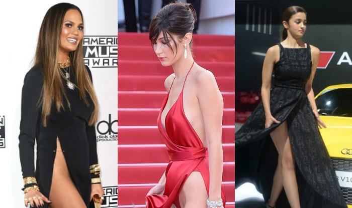 Alia Bhatt To Chrissy Teigen 7 Worst Wardrobe Malfunctions Which Left These Celebrities Red Faced