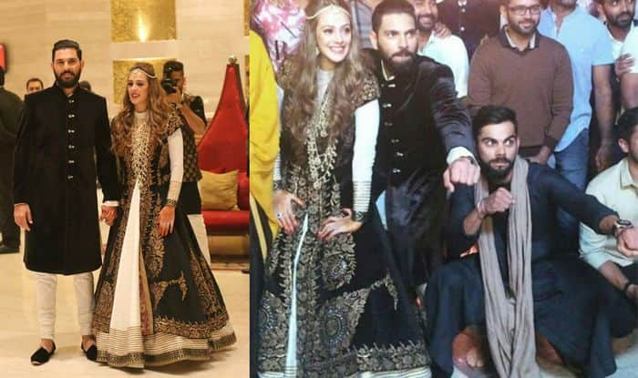Yuvraj Singh and Hazel Keech wedding sangeet: Virat Kohli dances away on Punjabi track Watch video