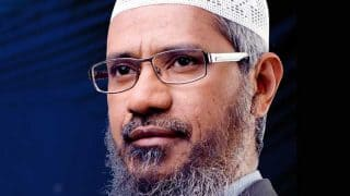 'Save Kashmir From Becoming Next Palestine': Zakir Naik