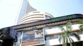 Sensex trims initial losses, still down by 284 points