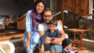 Aamir Khan's son Azad gave the cutest reaction to his dad's 'Dangal' weight gain!