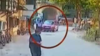 Shocking! Speeding car rams 2 children near Mumbai, driver arrested (Watch Video)