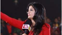 Aaj Tak tv anchor anjana om kashyap slip of tongue,…