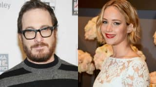 Jennifer Lawrence spotted kissing rumoured beau Darren Aronofsky