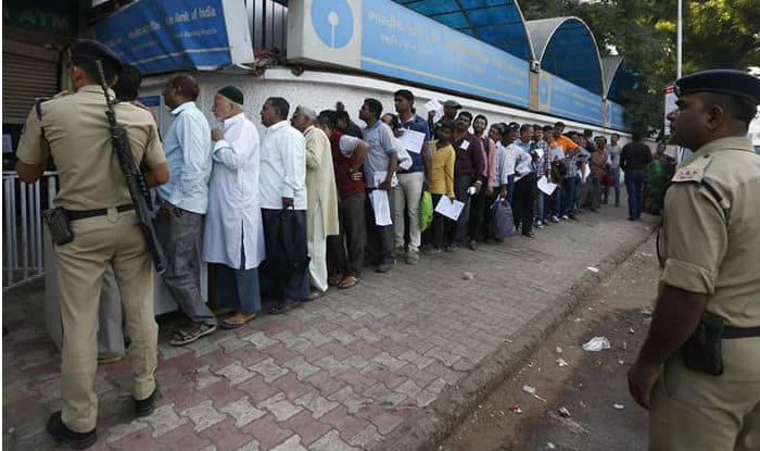 Queue outside bank (representational image)