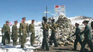 भारतीय सीमा के पास चीनी सैनिकों का नेतृत्व करने वाले अधिकारी को इनाम, बने जनरल