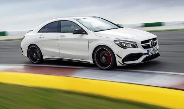 Mercedes-Benz CLA Facelift 2017