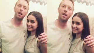 When Shraddha Kapoor had a fun jam session with Coldplay's Chris Martin!