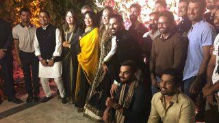 Virat Kohli and Co in attendance at Yuvraj Singh-Hazel Keech cocktail ceremony
