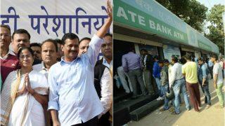 Demonetisation Day 9: Exchange limit lowered to Rs 2,000; Arvind Kejriwal, Mamata Banerjee warn of revolt; Govt adamant on currency ban