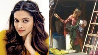 Shabby Deepika Padukone! Actress goes unrecognizable on the sets of her new movie - See Pictures