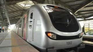 Delhi Metro: Sideway collision between 2 Hyundai Rotem metro trains at depot