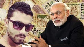 नोटबंदी पर रविन्द्र जडेजा ने किया प्रधानमन्त्री नरेंद्र मोदी का समर्थन, किया शानदार ट्वीट