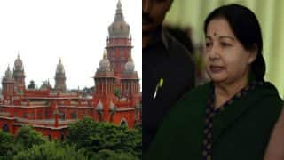 Madras High Court moved on Jayalalithaa affixing her thumb impression in poll papers
