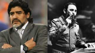 Fidel Castro was like my second father: Diego Maradona mourns death of Cuban revolutionary leader