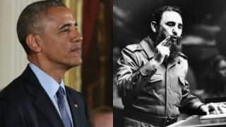 President Barack Obama says history will judge Fidel Castro's 'enormous impact'