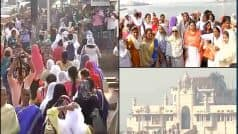Women activists will re-enter Haji Ali dargah after 5 years…