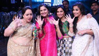 Kahaani 2 actress Vidya Balan goes back in time with Hum Paanch Team