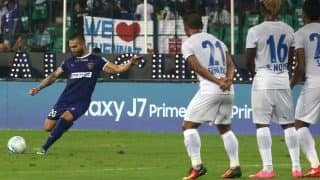 ISL 2016 Chennaiyin FC vs Mumbai City FC Highlights & Match Result: Chennai, Mumbai play out 1-1 draw