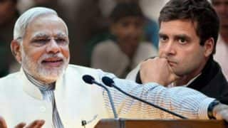 PM Narendra Modi Takes a Dig at Rahul Gandhi Over Gujarat Temple Visits, Says 'They Remember Baba Bholey More Than Baba Saheb These Days'
