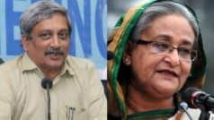 Manohar Parrikar to be first Indian Defence Minister to visit…