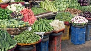 Wholesale inflation cools to 5.70% even as food prices heat up