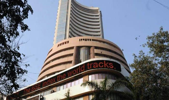Sensex at two-week high, up 44 points in choppy trade