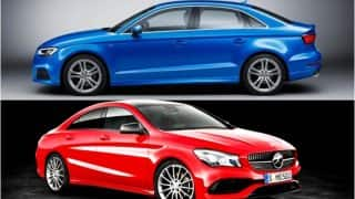 New Mercedes-Benz CLA 2017 vs Audi A3: Price, features and specifications comparison