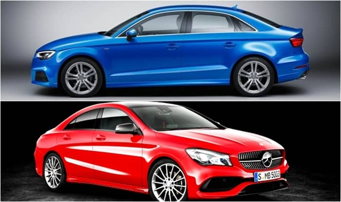 Mercedes-Benz CLA 2017 vs Audi A3