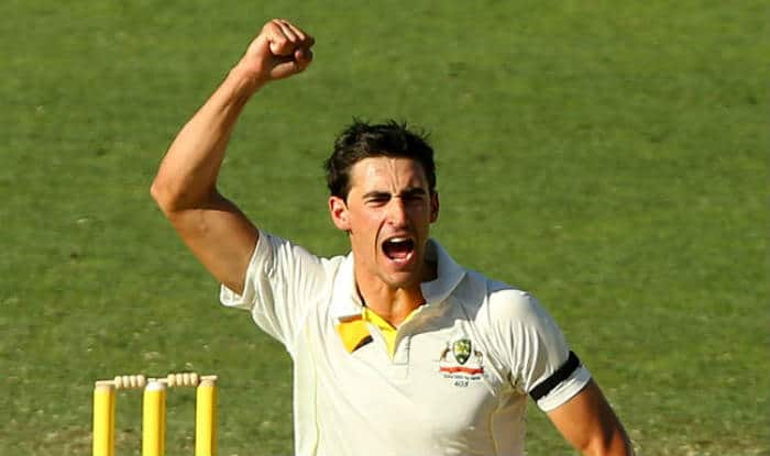 File picture of Mitchell Starc.