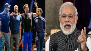 Narendra Modi turns down Coldplay guest invitation, concert likely to be cancelled in Mumbai