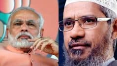 'Anti-Muslim' Modi govt banning IRF is politically motivated: Zakir Naik