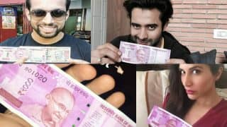 Emraan Hashmi, Sophie Choudry, Salil Acharya: Celebs go crazy posting new Rs 2000 currency notes selfies!
