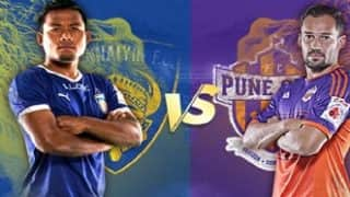ISL LIVE Score Chennaiyin FC vs Pune City FC: Chennai hopes for knockout round still alive as they beat Pune by 2-0