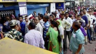 Woman spots ex-lover in bank queue, gets him thrashed