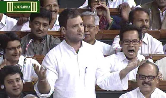 Parliament: Rahul Gandhi leads Opposition walkout over no obituaries in Lok Sabha for Nagrota bravehearts