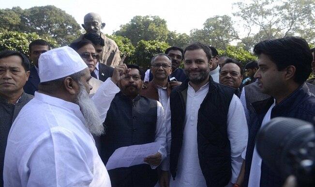 Nagrota terror attack : Venkaiah Naidu attacks Rahul Gandhi