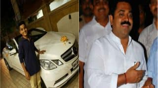 BJP MLA Ram Kadam gifts his minor son a Mercedes Benz convertible in times of cash crunch