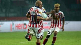 ISL 2016 Atletico de Kolkata vs NorthEast United FC Highlights & Match Result: Ian Hume ruined the party for visitors, score a late equaliser to bring ATK back into the game