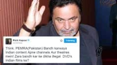 Rishi Kapoor has a message for Pakistan's media authority