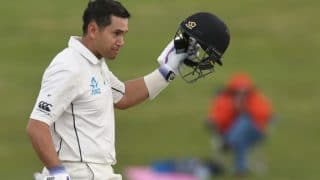 New Zealand vs Pakistan: Ton-up Ross Taylor helps Kiwis to set visitors a target of 369 runs