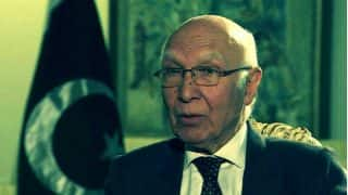 Kashmir issue will be resolved through indigenous struggle: Sartaj Aziz